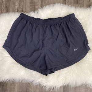 Nike Gray Tempo Running Shorts